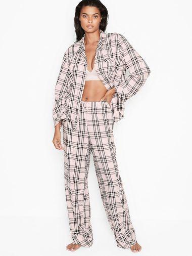 Pijama-Pantalon-de-Algodon-Victoria-s-Secret